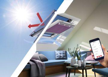VELUX'ten Çatı Pencereleri İçin Yeni Isıdan Koruma Çözümü: Solar Tente