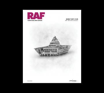 RAF Ürün Dergisi 15. Kapak Tasarım Yarışması Sonuçlandı!