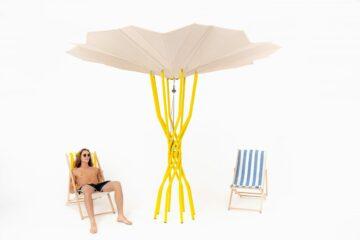 CRA-Carlo Ratti Associati'den Güneş Enerjisi ile Serinleten Şemsiye
