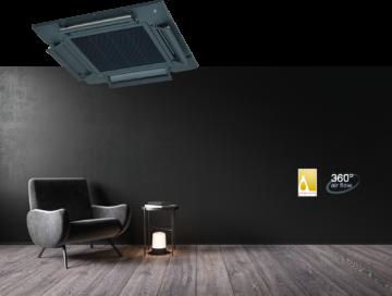 Form MHI Klima Sistemleri, Airflex Shadow Black ile Kalite ve Şıklığı Öne Çıkarıyor