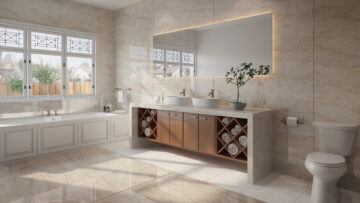 Cosentino, Büyük Boyutlu Dekton Yüzeylerle Banyolara Stil Katıyor